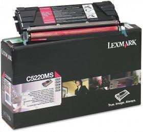 Toner Lexmark C5220 (C5220MS),3000 stron, magenta (purpurowy)