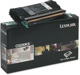 Toner Lexmark (C5220KS), 4000 stron, black (czarny)