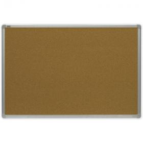 Tablica korkowa 2x3, w ramie aluminiowej, 180x90cm, brązowy