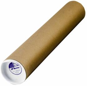 Tuba kartonowa Leniar, 130x10cm, brązowy