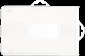 Holder do identyfikatorów Argo, typ K, 90x57mm, przezroczysty