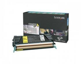 Toner Lexmark (C5340YX), 7000 stron, yellow (żółty)