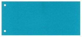 Przekładki kartonowe wąskie Esselte, 1/3 A4, 100 kart, niebieski
