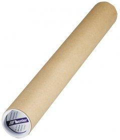 Tuba kartonowa Leniar, 103x10cm, brązowy