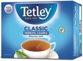 Herbata czarna w torebkach Tetley Classic, 100 sztuk x 1.6g