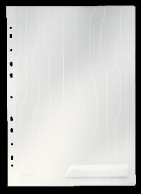 Folder groszkowy Leitz CombiFile, A4, do 40 kartek, 200µm, 5 sztuk, transparentny