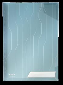 Folder groszkowy Leitz CombiFile, usztywniony , A4, do 20 kartek, 200 µm, 3 sztuki, niebieski