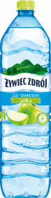 Woda smakowa niegazowana Żywiec Zdrój, jabłkowy, 1.5l