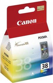 Tusz Canon 2146B001 (CL-38), 200 stron, CMY cyan (błękitny), magenta (purpurowy), yellow (żółty)