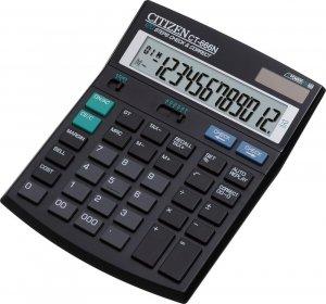 Kalkulator biurowy Citizen CT-666, 12 cyfr, czarny