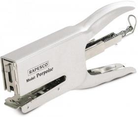 Zszywacz nożycowy Rapesco Porpoise, do 40 kartek, srebrny