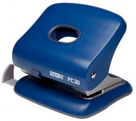 Dziurkacz biurowy Rapid Fashion FC30, do 30 kartek, niebieski