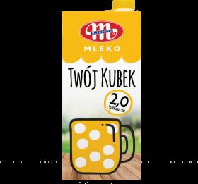 Mleko UHT Mlekovita Twój Kubek, 2%, 1l