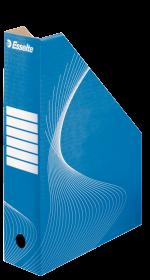 Pojemnik kartonowy na dokumenty Esselte, A4, 80mm, do 800 kartek, niebieski