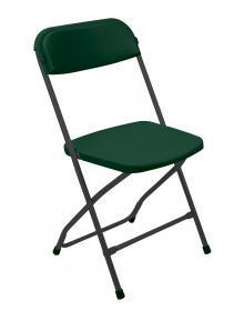 Krzesło składane Nowy Styl Polyfold, zielony