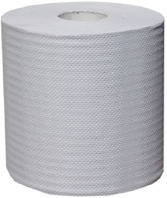 Ręcznik papierowy Merida, jednowarstwowy, 320m, biały