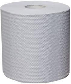 Ręcznik papierowy Merida, 1-warstwowy, 320m, w roli, 1 rolka, biały