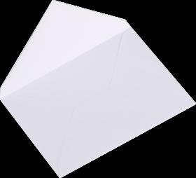 Koperta standardowa NC, B6, klejona na mokro NK, 1 sztuka, biały