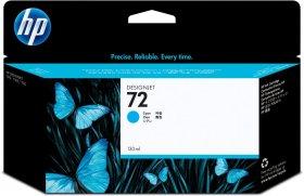 Tusz HP 72 (C9371A), 130 ml, cyan (błękitny)