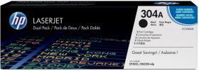 Toner HP 304A (CC530AD), 7000 stron, 2 sztuki, black (czarny)