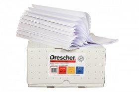Papier offsetowy do drukarki igłowej (składanka) Drescher, 210mm, 1+0 bez nadruku