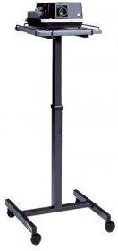 Stolik projekcyjny na kółkach 2x3 Solo, 80-125x40x51cm, grafitowy
