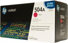 Toner HP 504A (CE253A), 7000 stron, magenta (purpurowy)