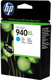 Tusz HP 940 XL (C4907AE), 16ml, cyan (błękitny)