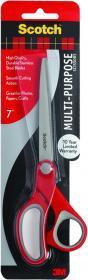Nożyczki biurowe Scotch, ergonomiczne, 18cm, szaro-czerwony