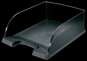 Półka na dokumenty Leitz Plus Jumbo, A4, plastikowa, czarny