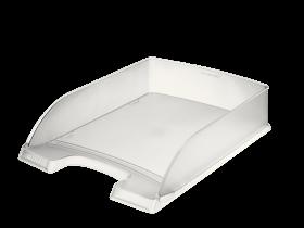 Półka na dokumenty Leitz Plus, A4, plastikowa, przezroczysty