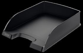 Półka na dokumenty Leitz Plus Standard, A4, plastikowa, czarny