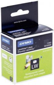 Etykiety do drukarek Dymo LabelWriter 11353, 13x25mm, 1000 etykiet, biały