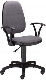 Krzesło obrotowe Nowy Styl Adler, profil GTP, szary