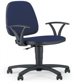 Krzesło obrotowe Nowy Styl Adler, profil GTP, niebieski