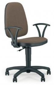 Krzesło obrotowe Nowy Styl Adler, profil GTP, brązowy