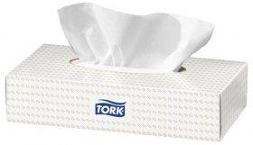 Chusteczki higieniczne Tork 290184, ekstra miękkie, w kartoniku, 100 sztuk