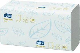 Ręcznik papierowy Tork 100289 Xpress Premium, miękki, dwuwarstwowy,w składce ZZ, 150 składek, biały