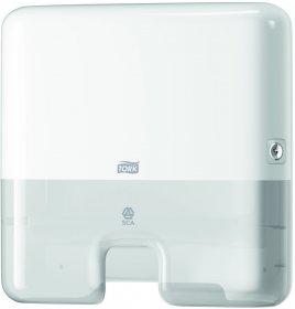 Dozownik do ręczników Tork 552100 Xpress, w składce wielopanelowej, mini, biały
