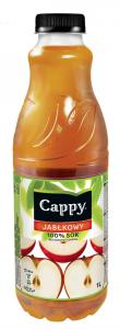 Sok jabłkowy Cappy, butelka, 1l