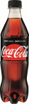 Napój gazowany Coca-Cola Zero, butelka, 0.5l