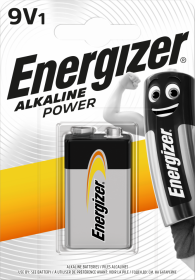 Bateria alkaliczna Energizer, 9V, 6LR61, 1 sztuka
