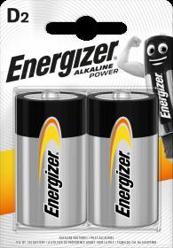 Bateria alkaliczna Energizer, D, 1.5V, LR20, 2 sztuki