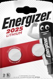 Bateria specjalistyczna Energizer, 3V, CR2025, 2 sztuki
