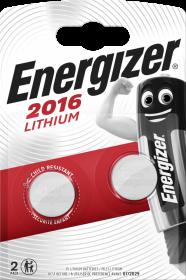 Bateria specjalistyczna Energizer, CR2016, 2 sztuki