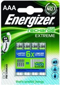 Akumulator Energizer Extreme, AAA, 1.2V, 800mAh, 4 sztuki