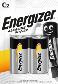Bateria alkaliczna Energizer, C LR14, 2 sztuki