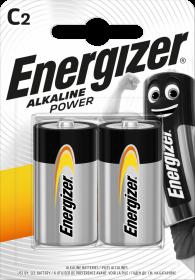 Bateria alkaliczna Energizer, C, 1.5V, LR14, 2 sztuki