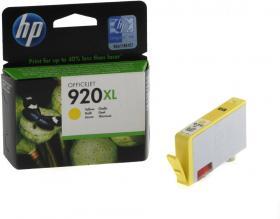 Tusz HP 920XL (CD974AE), 700 stron, yellow (żółty)