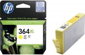 Tusz HP 364XL (CB325EE), 6ml, yellow (żółty)